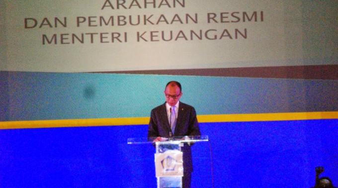 Menteri Keuangan Republik Indonesia memberikan arahan dalam Konferensi AAIPI