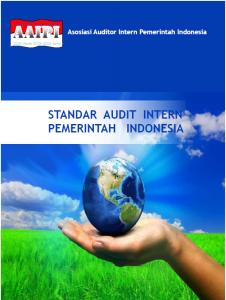 Standar Audit Intern Pemerintah Indonesia